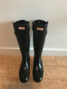 Black Hunter Tall Rain-Boots
