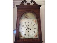 Antique 8 day Grandfather Clock