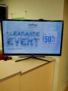 "*** USED *** SAMSUNG SAMSUNG 51"" 3D PLASMA TV   S/N:3CQD700756   #STORE213"
