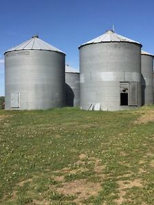 Steel grain bins for sale to be moved