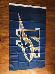 Man Cave Blue Bomber , Rough Rider, B.N. sealed flags 3ft x5ft