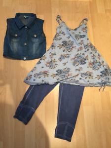 Vêtements fille 8 ans +/-