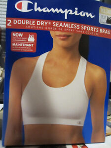 SPORT BRAS, size XL, 2/$30, Champion brand, Seamless, Double-dry