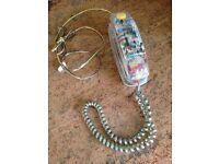 Mybelle Spotlight 753 Classic retro flashing telephone.