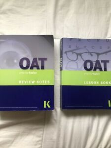 Kaplan OAT Review Book and Lesson Book