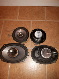 6.5 and 6x9 car speakers