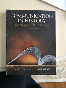 Communication in History - 6th Edition book for sale