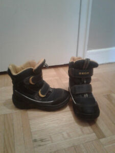 Geox boots size 10