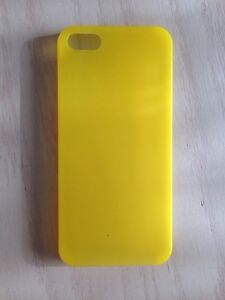 Brand new yellow case for iPhone 5 and iPhone 5S Kitchener / Waterloo Kitchener Area image 1