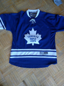 Toronto Maple Leafs official Johnny Bower jersey
