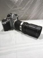 M9 pentax asahi slr camera with zoom lens