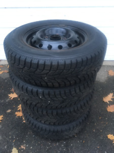 Winter tires and rims 185/70 R14