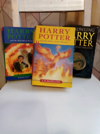 Novels of Harry Potter in 1st Edions