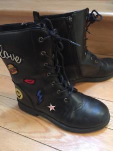chaussure et bottes hiver filles