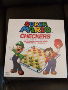 Super Mario Checkers - new and unopened