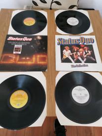 2 x status quo vinyl