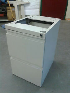 Open Top Two Drawer Pedestal Cabinets CLEARANCE PRICE!