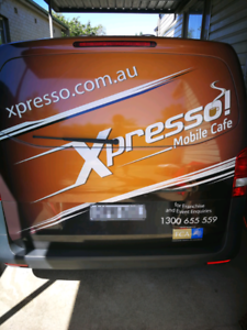 Coffee franchise van and business for sale