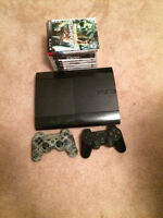 500GB PS3 w/13 GAMES & 2 CONTROLLERS