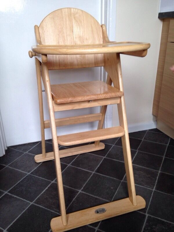 Baby weavers wooden high chair Buy sale and trade ads