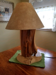 Cypress Root Wood Table Lamp