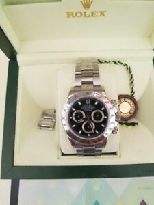 ROLEX DAYTONA 116520 with box and papers