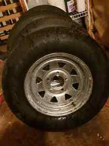 A set of 4 trailer tires new 13 inch  Kitchener / Waterloo Kitchener Area image 3
