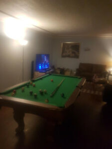 Pool table/table tennis