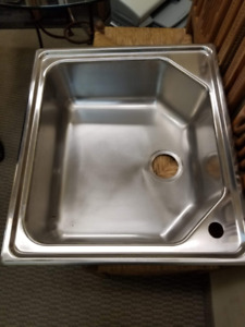 Blanco 18/10 Stainless Utility Sink, Made in Germany