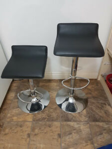 Hydraulic Height Adjustable Bar Stools
