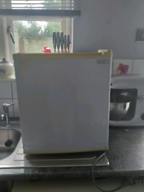 Small table top fridge
