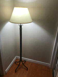 2 Floor Lamps with long cords for sale ($25 each)