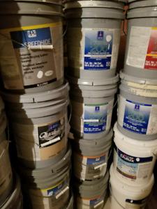 Paint - 5 gal pails for $50- whites/creams/soft