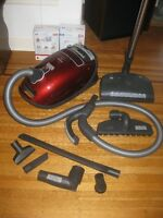 BARELY USED Miele Vacuum....great deal!