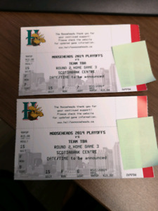 Lower bowl Mooseheads tickets