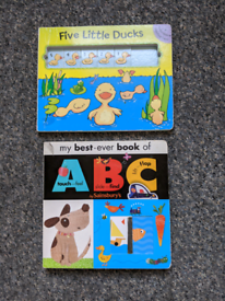 Various baby and toddler books