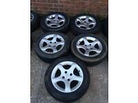 Peugeot 306 gti cyclone alloys swap for 5x112