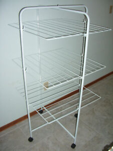 Foldable, portable, clothes drying rack,  20 dollars