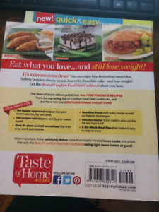 20 dollars for  3 Taste of Home cookbooks from smoke free home
