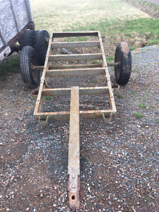 Rugged Trailer to use for Farm or Bush