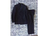 Men's Suit - Navi 36R/30short