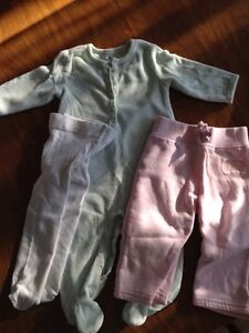 Lot of 9 baby girl clothes size 3-6 months Kitchener / Waterloo Kitchener Area image 2
