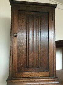 Vintage solid wood side cabinet excellent condition