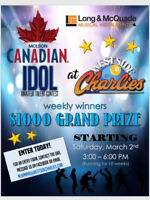 West Side Charlie's Molson Idol contest