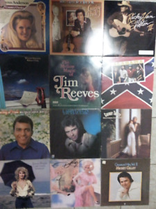 12 Various Country Albums  (Lot # 3)
