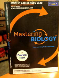 Mastering Biology Student Access Code Card ebook