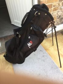 Golf bag. Black, Aspire M5