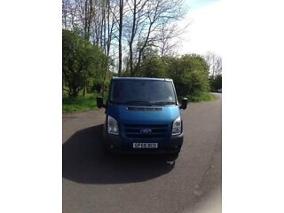 Ford transit box van on. a 59plate