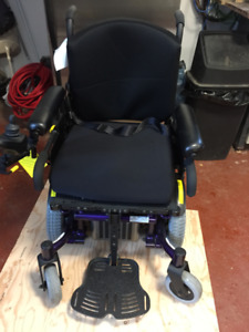 Power wheelchair Quickie Experience