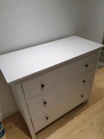 Ikea chest of drawers, Hemnes 3 drawers